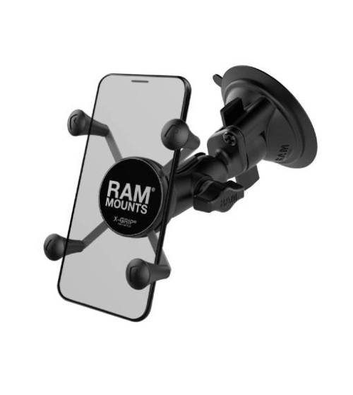 RAM X-Grip Universal Phone Holder with Twist-lock suction cup