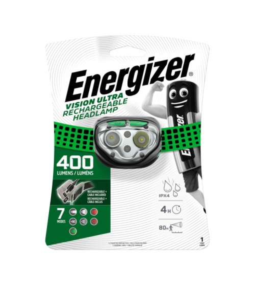 Energizer Vision Ultra Rechargeable Headlamp